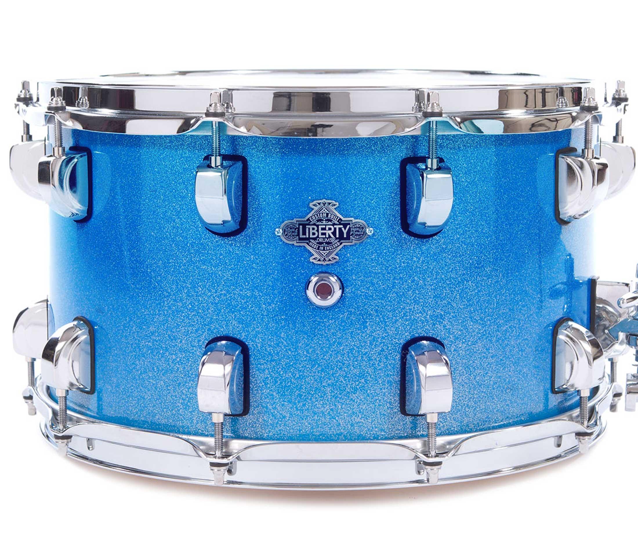 Blue sparkle lacquer