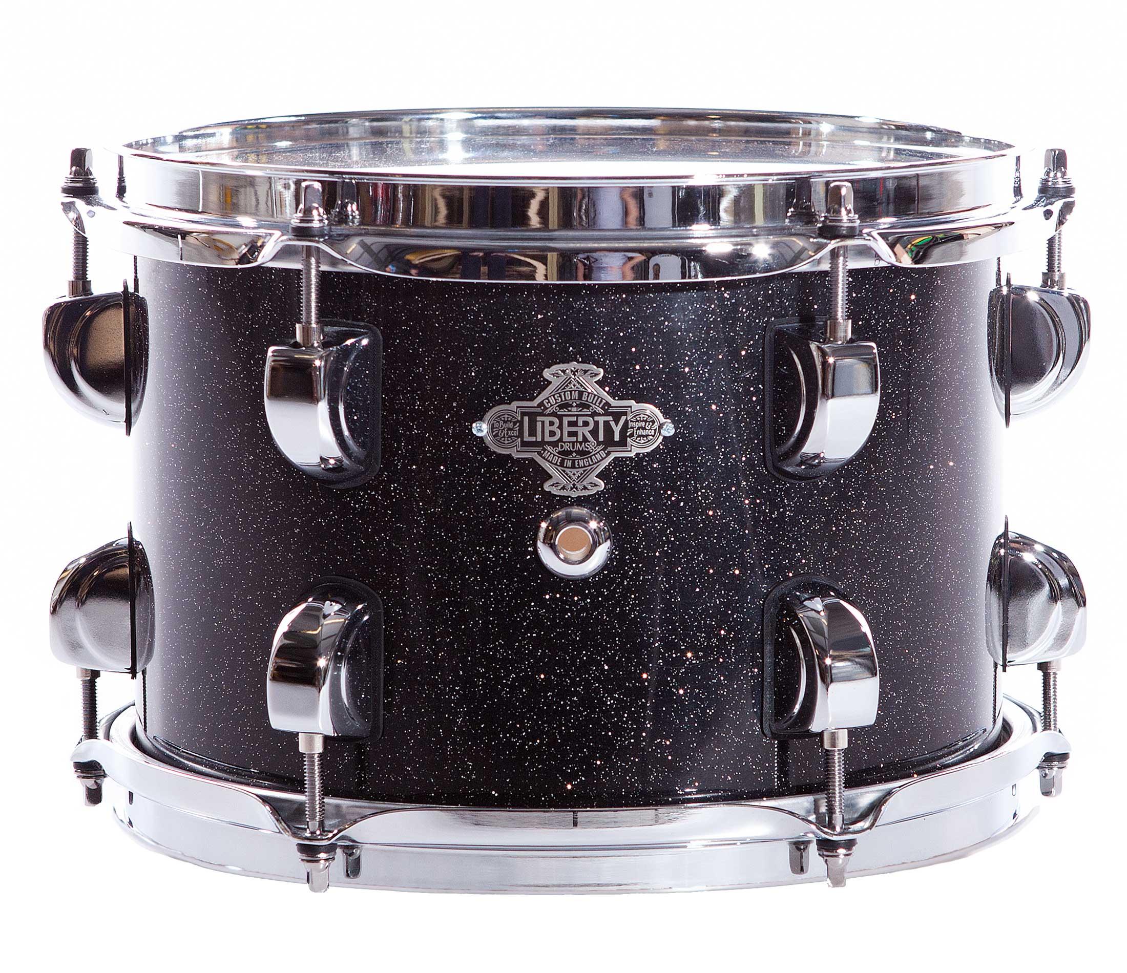 Black sparkle lacquer