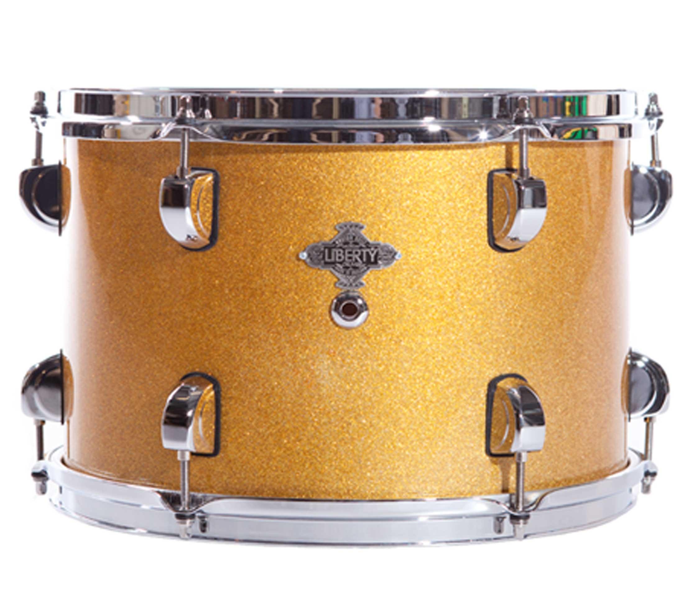 Gold sparkle lacquer